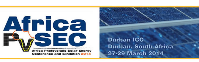 AfricaPVSEC - Africa Photovoltaic Solar Energy Conference and Exhibition